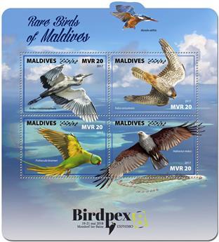 n° 5926/5929 - Timbre MALDIVES Poste