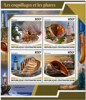 n° 5225/5228 - Timbre CENTRAFRICAINE Poste