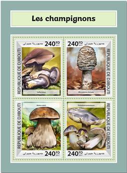 n° 1732/1735 - Timbre DJIBOUTI Poste
