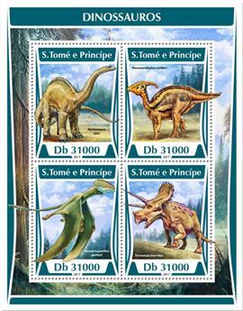 n° 5777/5780 - Timbre SAINT-THOMAS ET PRINCE Poste