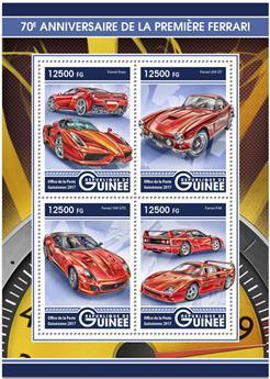 n° 8705/8708 - Timbre GUINÉE Poste