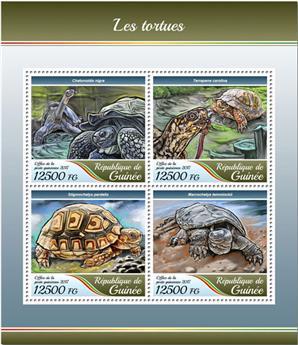 n° 8944/8947 - Timbre GUINÉE Poste