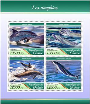 n° 8984/8987 - Timbre GUINÉE Poste