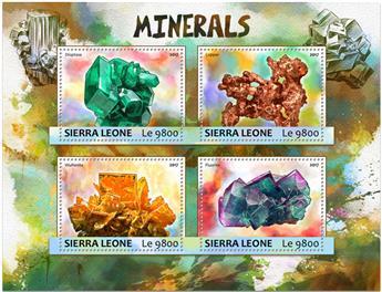 n° 6797/6800 - Timbre SIERRA LEONE Poste
