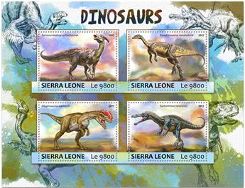 n° 6817/6820 - Timbre SIERRA LEONE Poste