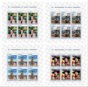 n° 6937/6940 - Timbre SIERRA LEONE Poste