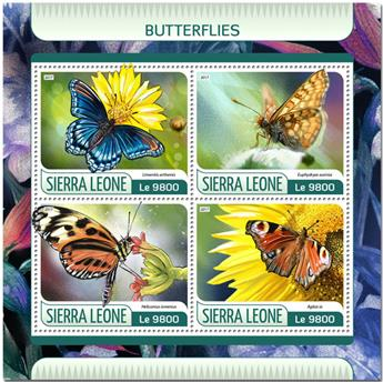 n° 7041/7044 - Timbre SIERRA LEONE Poste