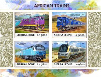 n° 7121/7124 - Timbre SIERRA LEONE Poste
