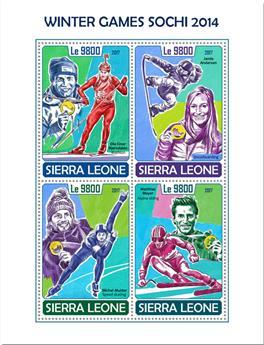 n° 7381/7384 - Timbre SIERRA LEONE Poste