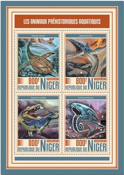 n° 4307/4310 - Timbre NIGER Poste