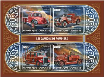 n° 5748/5751 - Timbre TOGO  Poste