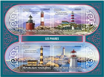 n° 5768/5771 - Timbre TOGO  Poste