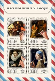 n° 5901/5904 - Timbre TOGO  Poste
