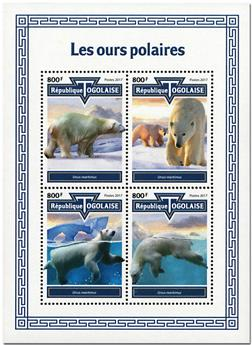 n° 6055/6058 - Timbre TOGO  Poste