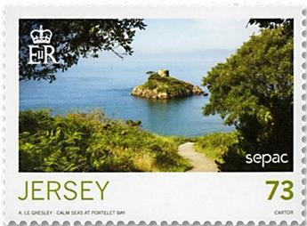 n° 2274/2281 - Timbre JERSEY Poste