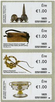n° 93/96 et n° 97/100 - Timbre IRLANDE Timbres de distributeurs