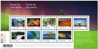 n° 3452/3460 - Timbre CANADA Poste