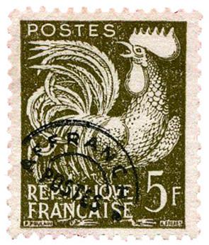 n°107(*) - Timbre FRANCE Préoblitérés