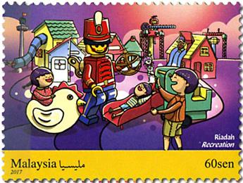 n° 1942/1947 - Timbre MALAYSIA Poste