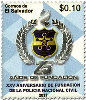 n° 1889 - Timbre SALVADOR Poste