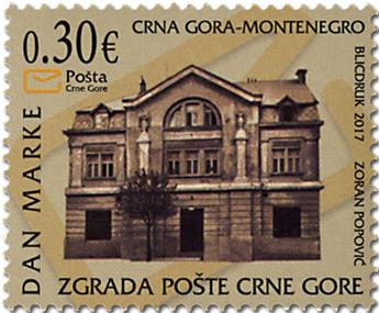 n° 412 - Timbre MONTENEGRO Poste