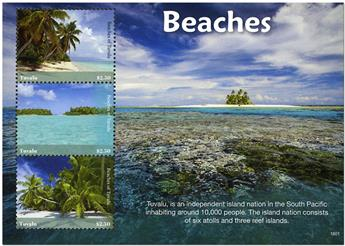 n° 1985/1987 - Timbre TUVALU Poste
