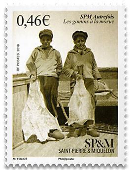 n° 1201 - Timbre Saint-Pierre et Miquelon Poste