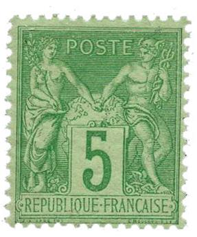 n°102* - Timbre FRANCE Poste