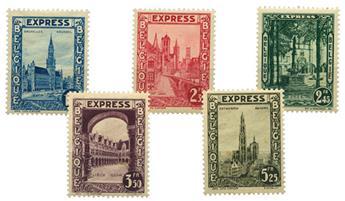n° E. 1/5* - Timbre BELGIQUE  Express