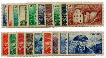 n°119/137* - Timbre ANDORRE Poste