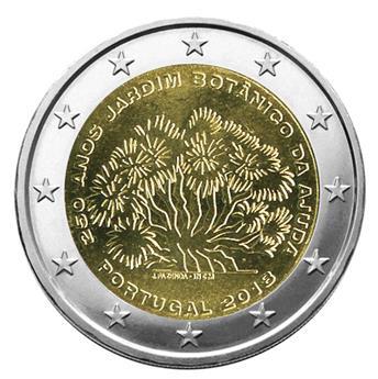 2 EURO COMMEMORATIVE 2018 : PORTUGAL (250 ans du jardin botanique Ajuda)