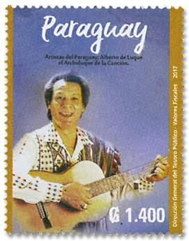 n° 3268 - Timbre PARAGUAY Poste