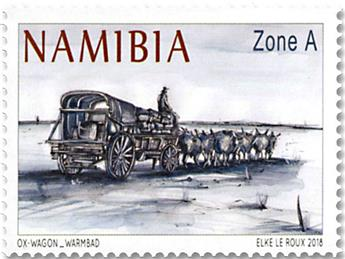 n° 1406/1408 - Timbre NAMIBIE Poste