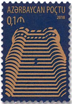 n° 1104/1105 - Timbre AZERBAIDJAN Poste