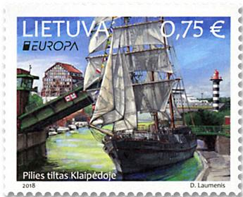 n° 1106/1107 - Timbre LITUANIE Poste (EUROPA)