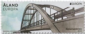 n° 453 - Timbre ALAND Poste (EUROPA)