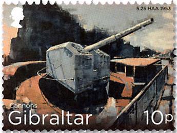 n° 1842/1853 - Timbre GIBRALTAR Poste