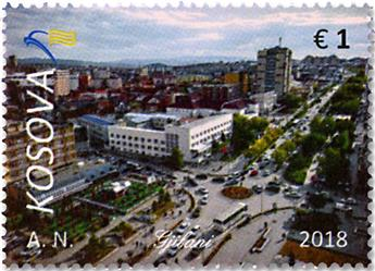 n° 275/276 - Timbre KOSOVO Poste