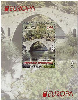 n° 35 - Timbre MACEDOINE Blocs et feuillets (EUROPA)