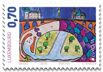 n° 2109/2110 - Timbre LUXEMBOURG Poste