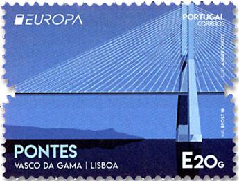 n° 4368 - Timbre PORTUGAL Poste (EUROPA)