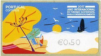 n° 220 - Timbre PORTUGAL Timbres de distributeurs