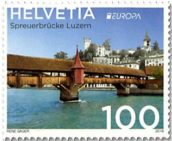 n° 2465/2466 - Timbre SUISSE Poste (EUROPA)