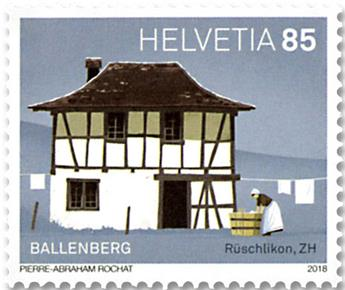 n° 2470/2473 - Timbre SUISSE Poste
