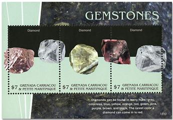 n° 4367/4369 - Timbre GRENADINES Poste