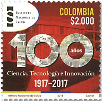 n° 1891 - Timbre COLOMBIE Poste