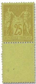 n°92** - Timbre FRANCE Poste
