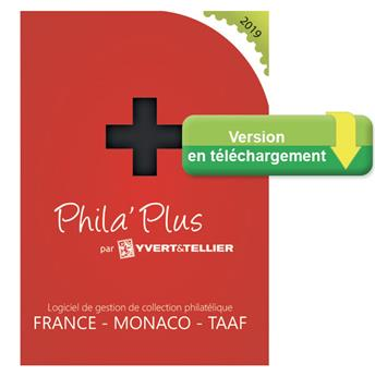 TELECHARGEMENT :  PHILA´PLUS Évolutif 2019 FRANCE