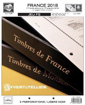FRANCE FS : 2018 - 1ER SEMESTRE (jeux sans pochettes)