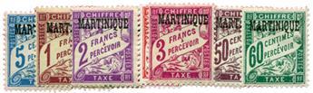 n°1/11* - Timbre MARTINIQUE Taxe